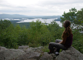 Hiking in the Lakes Region of New Hampshire